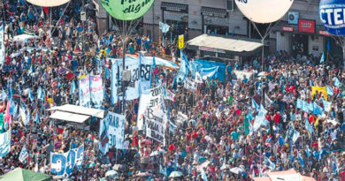 Protesta Marcha miercoles