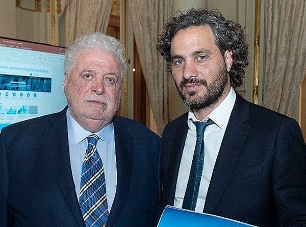Gonzalez Garcia y el Jefe de Gabinete