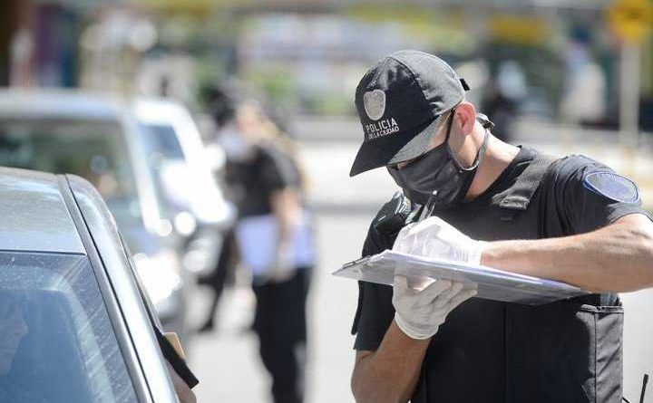 Policia en Cuarentena