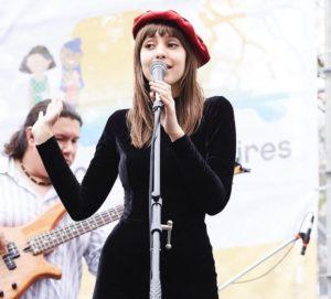 Louise Nuñez de Arco Cantante Franco Argentina