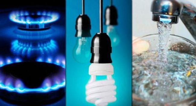 Luz, Gas y Agua - Servicios