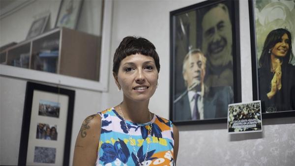 Mayra Mendoza Intendenta de Quilmes