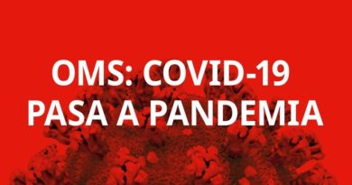 OMS - Pandemia