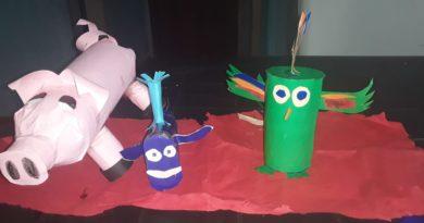Clases de plástica  para los mas pequeños a cargo de la profesora Beatriz Martinez