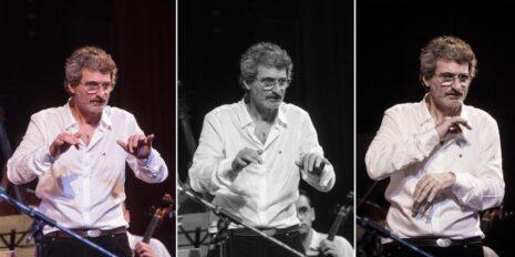 Jorge Carroso en la dirección y los arreglos musicales, fotografía: Diario de Cultura