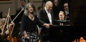 Martha Argerich y Zubin Metha ya puede disfrutarse desde la pagina del Teatro Colon
