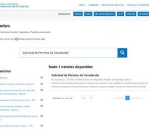 Coronavirus: Nuevo tramite para obtener el Certificado Único de Circulación