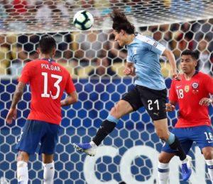 Uruguay gano por la mínima y se clasifico puntero