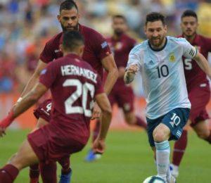 Argentina en la semifinal de la Copa América