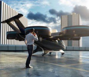 El taxi aéreo que Uber planea lanzar en 2023