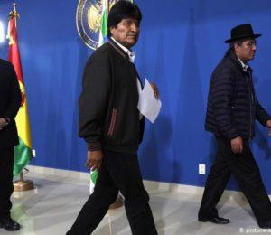 Renuncio Evo Morales. ¿Golpe de estado?