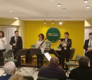 """El Quinteto de Vientos de Olavarría """"A toda Orquesta"""""""