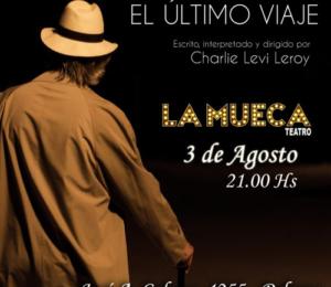 """Charlie Levi Leroy regresa a la Argentina con un ciclo de obras en el teatro """"La Mueca"""""""