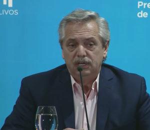 Alberto Fernández anunció la suspensión de clases hasta el 31 de marzo junto a otras medidas
