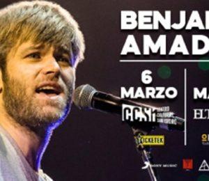 Benjamín Amadeo anuncia nuevos shows