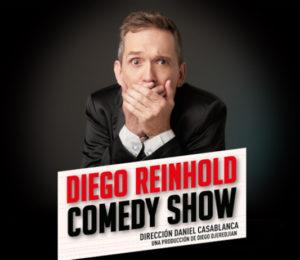 Diego Reinhold, un humor inteligente para un público que lo necesita