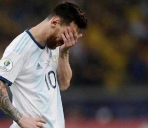 LA SUERTE DEJÓ A ARGENTINA FUERA DE LA FINAL