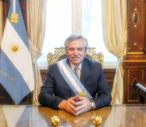 Carta del Presidente Alberto Fernández