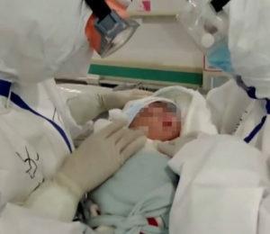 Contagio con coronavirus en bebés recién nacidos