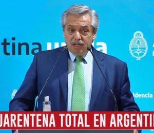 CUARENTENA TOTAL EN ARGENTINA