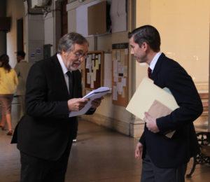 "Comenzó el rodaje de la miniserie ""Derecho Viejo"""