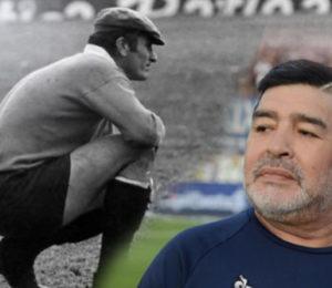 """Maradona recordó en las redes al emblema de River """"Amadeo Carrizo"""""""