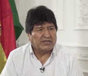 Evo Morales acusado de desestabilizar al gobierno boliviano