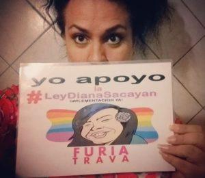 """Florencia Guimaraes: """"la sociedad históricamente ha negado la existencia de las personas travestis y trans"""""""