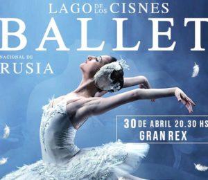 El Ballet Nacional de Rusia pronto en Argentina