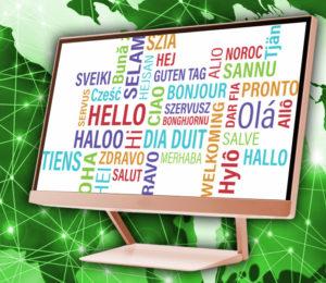 Un sitio web traducido a más de 1000 idiomas