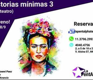 Historias mínimas 3: Homenaje a Frida Kahlo en Monte Grande
