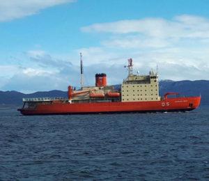El rompehielos Irízar podría ser acondicionado como buque hospital