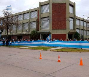 Masiva movilización contra la expropiación de Vicentin: impidieron el ingreso de los funcionarios del Gobierno
