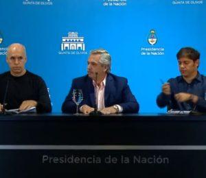 Alberto Fernandez pondrá todo el aparato del Estado para perseguir a los especuladores que quieren sacar rédito con esta crisis