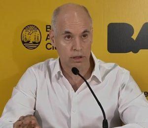 Gobierno Porteño: dispuso nuevas medidas para evitar la circulación de personas