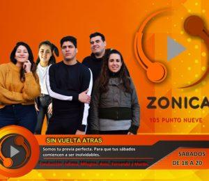"""Radios: Comienza """"Sin Vuelta Atrás"""" nuestro primer magazine en FM Zonica 105.9MHz"""
