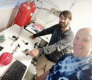 El Centro Atómico Bariloche creó una neblina desinfectante