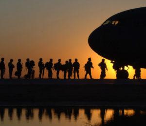 Tropas de Estados Unidos abandonan Irak