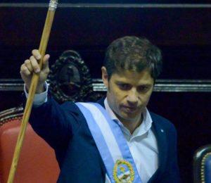 Kicillof asumió en la provincia de Buenos Aires