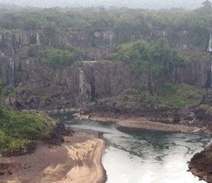 Cataratas del Iguazú y una bajante histórica