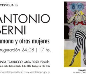 """Continua la muestra a """"Antonio Berni, Ramona y otras mujeres"""" en Vicente López Cultura"""