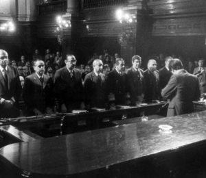A 35 años del juicio a la junta militar