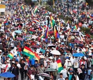 Organizaciones de Derechos Humanos y Sociales viajan a Bolivia