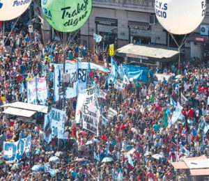 Protestas contra el FMI: miércoles 12 de febrero