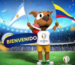 Podes elegir el nombre de la mascota de la Copa América 2020