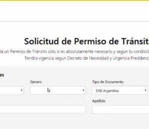 Como obtener el permiso para circular durante la cuarentena en la Ciudad de Buenos Aires