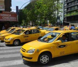 Paro de peones de taxis en Cordoba