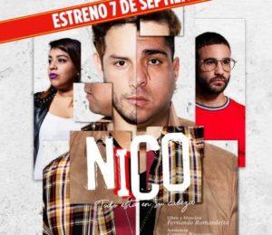 """Mañana gran estreno de """"Nico, todo esta en tu cabeza"""" en La Mueca"""