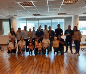 Ituran Argentina continúa capacitando a su personal de emergencias en RCP